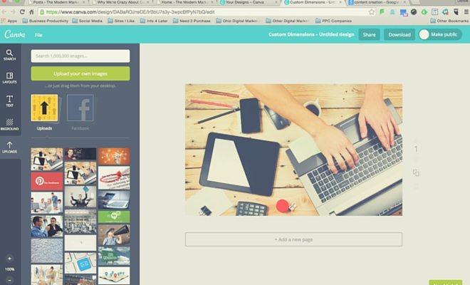 Why we love canva for small business