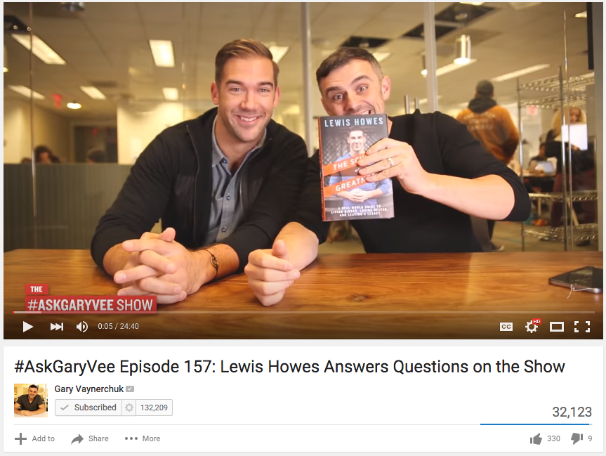 -AskGaryVee Episode 157 Lewis Howes Answers Questions on the Show YouTube