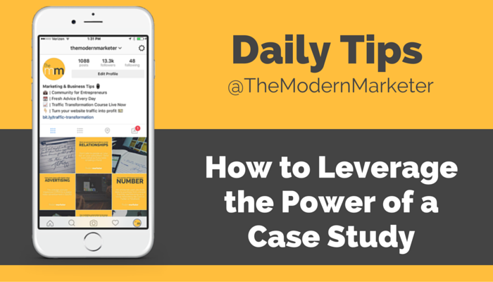 how to leverage the power of a case study