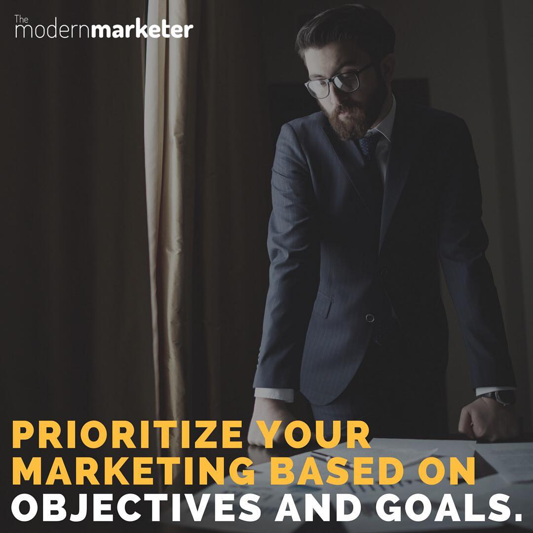 Marketing goals and objectives on social media