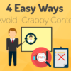 avoid crappy content