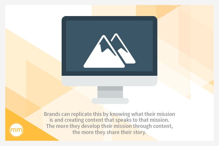 know your brand mission