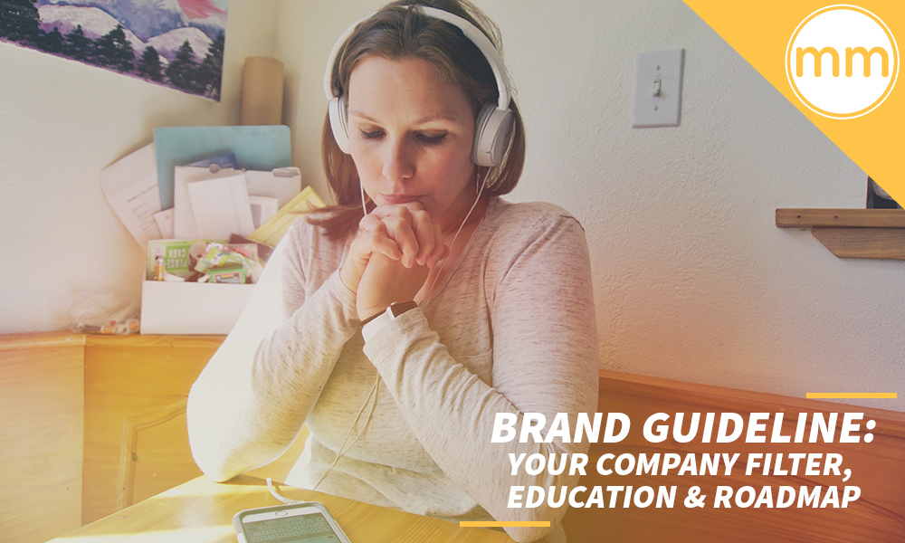 Brand Guideline- Your Company Filter, Education & Roadmap