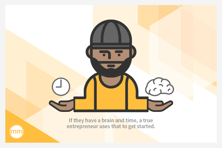 entrepreneurs use their time and brains