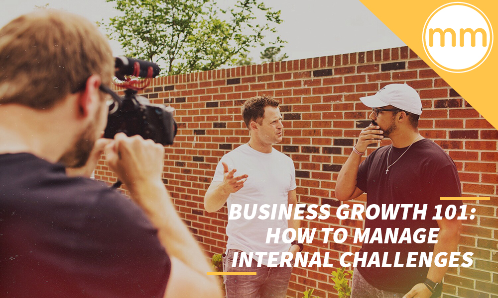 how to manage internal challenges