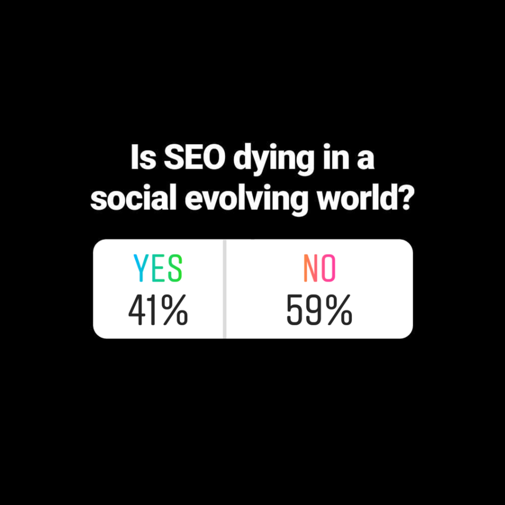 Is seo dying